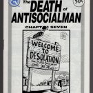 DEATH OF ANTISOCIALMAN #7 mini-comic MATT FEAZELL small press comix 1991
