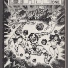 EXTRAORDINARY FIVE #1 mini-comic CARL TAYLOR small press SKETCH 1985