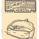 MY SUMMER VACATION underground comix ANDY NUKES mini-comic mail art 1988 1st