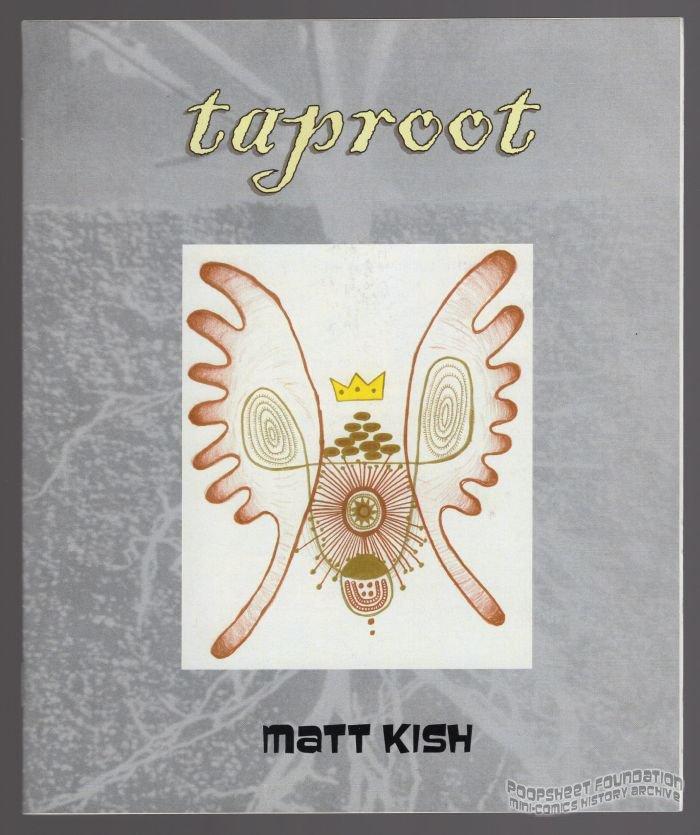 TAPROOT mini-comic MATT KISH full-color illustration underground comix 2006