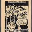 TALES FROM THE INSIDE #9 mini-comic MACEDONIO James Waltman underground comix 1982