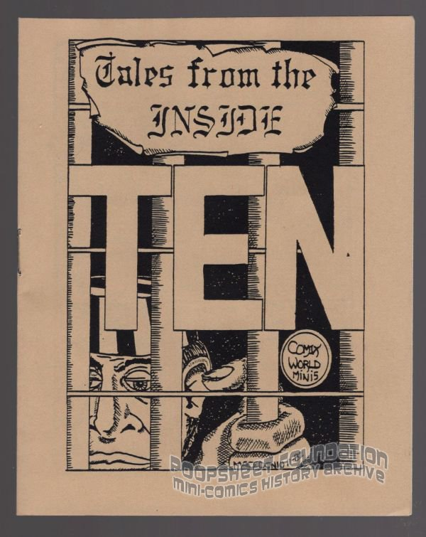 TALES FROM THE INSIDE #10 underground comix JAMES WALTMAN Macedonio Garcia minicomic 1983