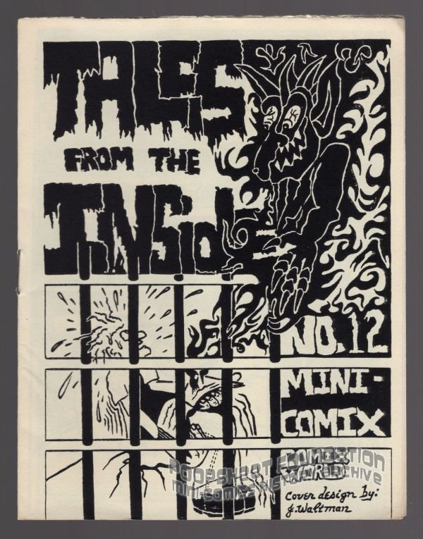 TALES FROM THE INSIDE #12 underground comix MACEDONIO James Waltman minicomix 1983