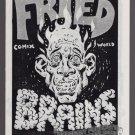 FRIED BRAINS #11 underground comix HILARY BARTA solo mini-comic Comix Wave 1985