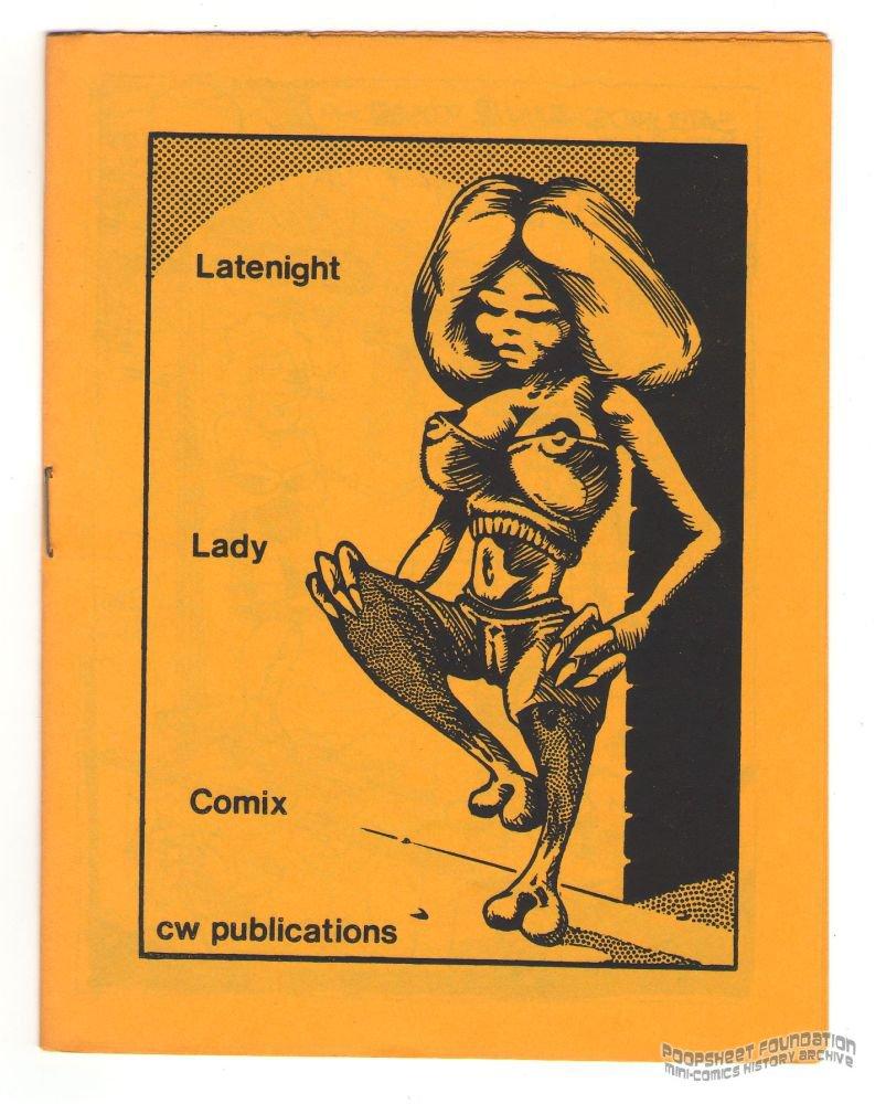LATENIGHT LADY COMIX underground GRASS GREEN Jim Ryan CLARK DISSMEYER mini-comic 1983