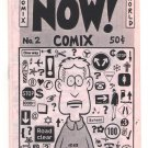 NOW COMIX #2 underground comix J.R. WILLIAMS mini-comic newave minicomix CW 1983