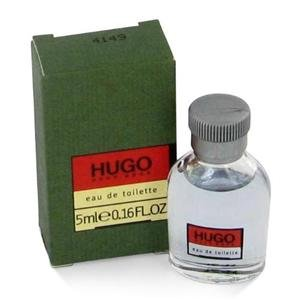 Hugo for Men by Hugo Boss 5 ml 0.16 oz NIB Mini (Travel Size)