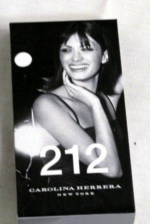 212 Perfume by Carolina Herrera 2 ml 0.06 oz (Stocking Stuffer)