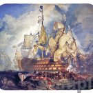 mouse pad HMS VICTORY BATTLE OF TRAFALGAR lord nelson