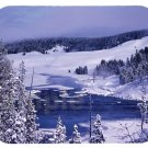 mouse pad YELLOWSTONE IN WINTER national park