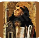 mouse pad mat SAINT THOMAS AQUINAS dominican priest