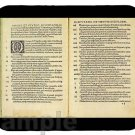 mouse pad MARTIN LUTHER THESES protestant reformation
