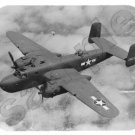 mouse pad B-25 MITCHELL wwii bomber airplane mouse mat