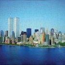 jigsaw puzzle NEW YORK CITY 2001 world trade center