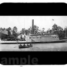 mouse pad USS COMMODORE PERRY 1858 steamer steam boat