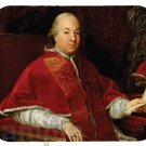 mouse pad POPE PIUS VI count giovanni angelo braschi