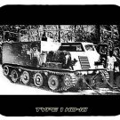 mouse pad TYPE HO-KI apc armored personnel carrier