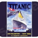 mouse pad RMS TITANIC unsinkable olympic class ship