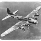 mouse pad B-17 FLYING FORTRESS boeing wwII heavy bomber