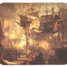 mouse pad BATTLE OF TRAFALGAR lord nelson napoleon wars