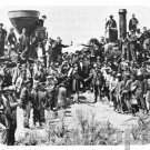 mouse pad mat FIRST TRANSCONTINENTAL RAILROAD train