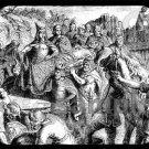 mouse pad mat ALARIC I visigoths king & sacker of rome