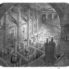 mouse pad OVER LONDON BY RAIL 1870 gustave dore england