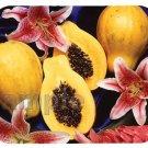 mouse pad HAWAIIAN PAPAYAS carica papaya hawaii fruit