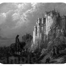 mouse pad CAMELOT by gustave dore king arthur knights