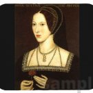 mouse pad mat ANNE BOLEYN wife of king henry viii
