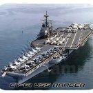 mouse pad CV-61 USS RANGER aircraft carrier