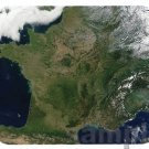 mouse pad FRANCE SATELLITE MAP