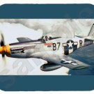 mouse pad P-51 MUSTANG p 51 p51 wwII fighter plane