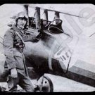 mouse pad EDDIE RICKENBACKER with his nieuport 28 plane