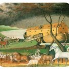 mouse pad NOAH'S ARK by edward hicks noahs bible story