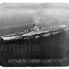 mouse pad CV-32 USS LEYTE aircraft carrier