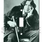 glowing switch plate OSCAR WILDE poet and author