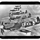 mouse pad SPITFIRE wwii raf fighter plane supermarine