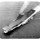 mouse pad CV-9 USS ESSEX aircraft carrier