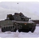 mouse pad COMBAT VEHICLE 90 cv90 stridsfordon strf 90