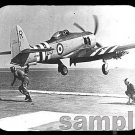 mouse pad HAWKER SEA FURY lauches from hms glory
