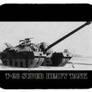 mouse pad T-28 SUPER HEAVY TANK t-95 gmc t 28 t28 t95