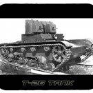 mouse pad T-26 SOVIET TANK t26 t 26