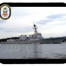mouse pad DDG-101 USS GRIDLEY guided missile destroyer