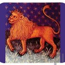 mouse pad LEO THE LION astrology sign astrological