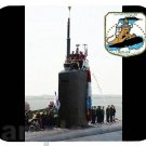 mouse pad SSN-765 USS MONTPELIER nuclear submarine