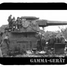 mouse pad GAMMA-GERAT german howitzer big bertha