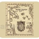 mouse pad SKAHOLT MAP OF NORSE AMERICA vikings 16centry