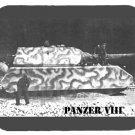 mouse pad PANZER VIII MAUS german tank blitzkrieg