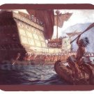 mouse pad ARRIVAL OF CHAMPLAIN IN QUEBEC samuel de